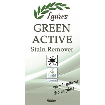 GREEN ACTIVE Rohelise seebi põhine plekieemaldusaine 0,5L